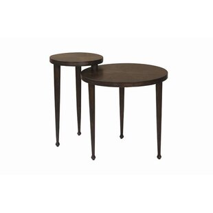 Burford 2 Piece Nesting Table by Darby Home Co