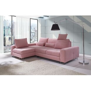 Karsten Corner Reversible Sleeper Sectional by Brayden Studio