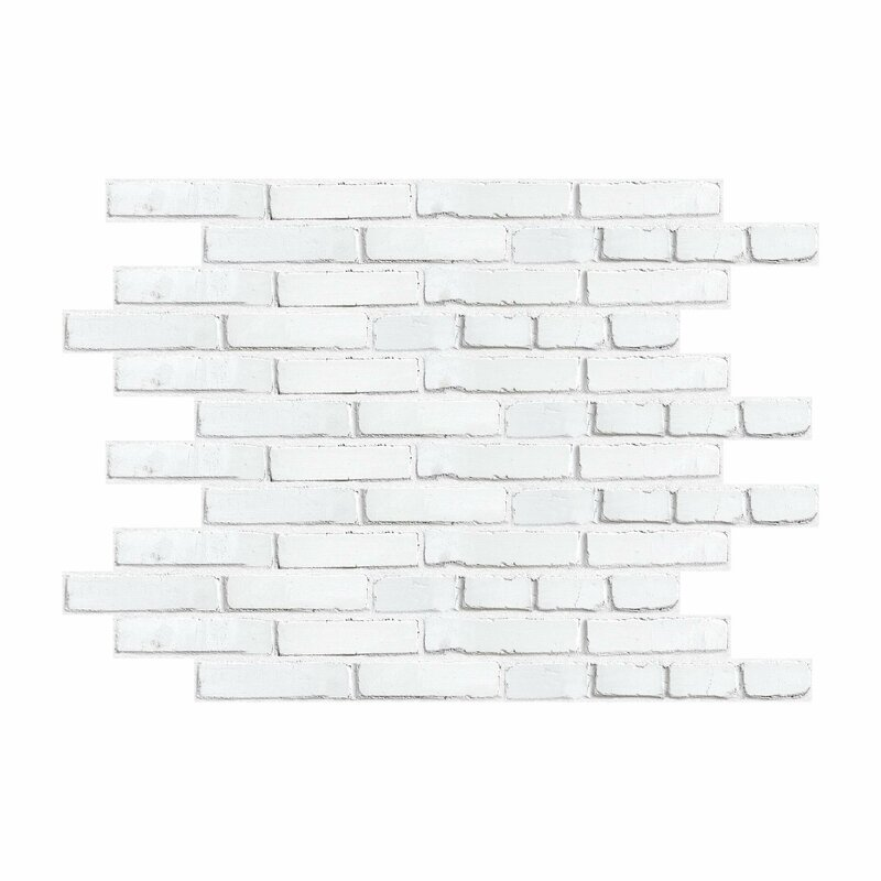 Zoomie Kids Brick Peel And Stick Giant Wall Decal Reviews Wayfair