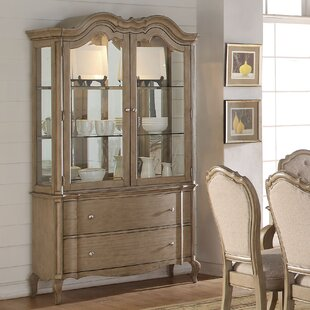 Donatella Lighted China Cabinet by One Allium Way