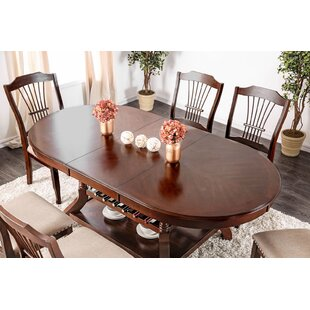 Lonnie Wooden Dining Table Alcott Hill
