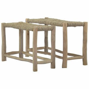 Fogarty 2 Piece Wood Bench By Beachcrest Home