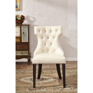 Traditional Parsons Chair (Set of 2) by Corzano Designs