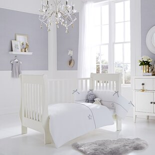 Silver Lining 2 Piece Cot Bedding Set