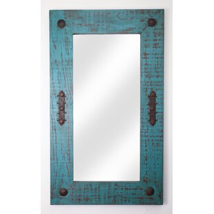 Reviews Santa Fe Rustic Accent Mirror By My Amigos Imports