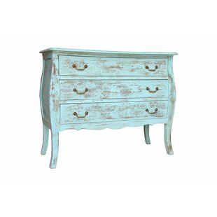 Zapata 3 Drawer Accent Chest by One Allium Way