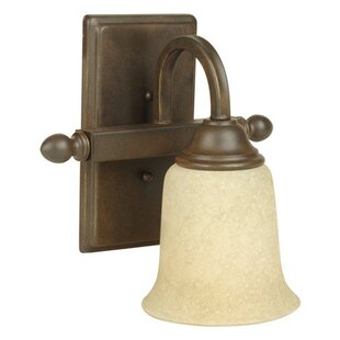 Belvidere 1-Light Bath Sconce by Charlton Home