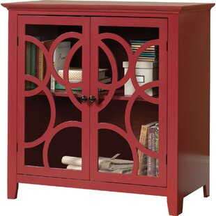 Red Barrel Studio Orrstown Display Accent Cabinet