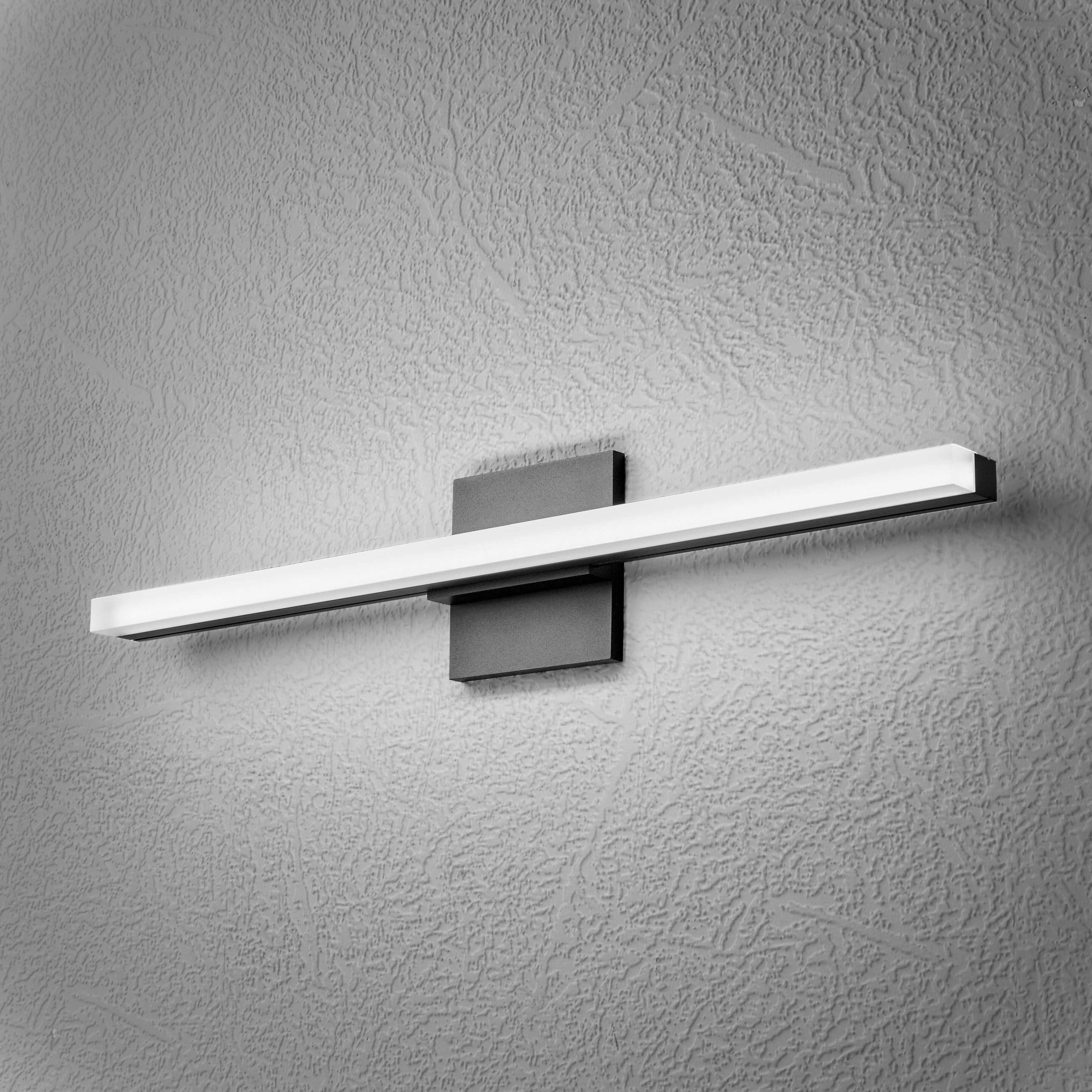 Orren Ellis Reicherter 1 Light Dimmable Led Bath Bar Wayfair