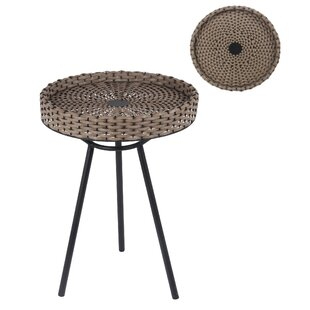 Reviews Electra End Table by Bayou Breeze