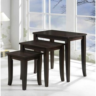 Dillon Furniture 3 Piece Nesting Tables by Alcott Hill