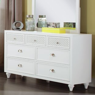 My Home Furnishings Amanda 7 Drawer Dresser