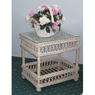 Bar Harbor End Table by Spice Islands Wicker