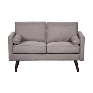 Rennick Fabric Loveseat by Turn on the Brights