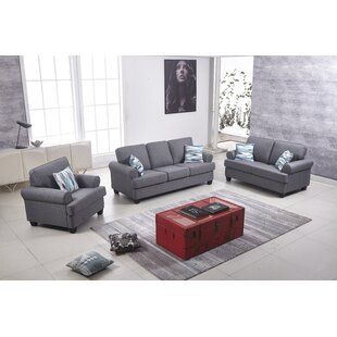 Find for Celestia 3 Piece Living Room Set by Red Barrel Studio Reviews (2019) & Buyer's Guide