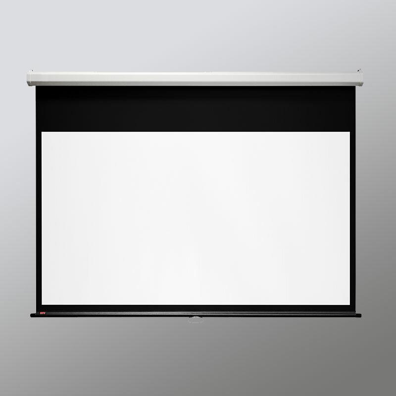 Draper Luma With Autoreturn White 100 Diagonal Electric Projection Screen Wayfair