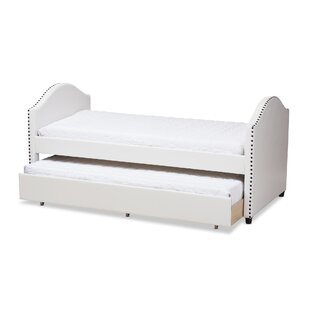 Compare Dollie Twin Platform Bed with Trundle by Harriet Bee Reviews (2019) & Buyer's Guide