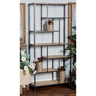 Schwanke Multi-Tiered Etagere Bookcase Brayden Studio