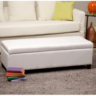 Warehouse of Tiffany Sharon Upholstered Storage Bench