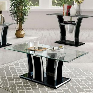 Staten Pedestal Coffee Table With Storage By Williams Import Co.
