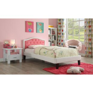 Look for Sumpter Transitional Wood and Leatherette Twin Upholstered Panel Bed by Harriet Bee Reviews (2019) & Buyer's Guide