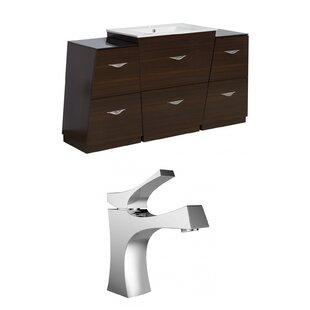 Vee 62 Single Bathroom Vanity Set by American Imaginations