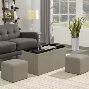 Zipcode Design Marla 3 Piece Ottoman