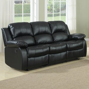 Patton Power Reclining Sofa by Andover Mills