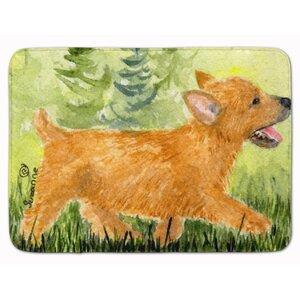 Norwich Terrier Memory Foam Bath Rug