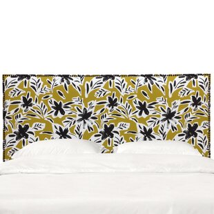 Deals Grissett Upholstered Panel Headboard by Ivy Bronx