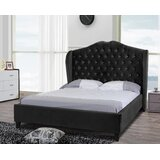 Padstow Upholstered Low Profile Sleigh Bed by Rosdorf Park