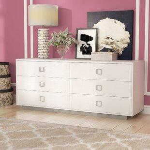 Jolicia Horizontal 17 Drawer Double Dresser