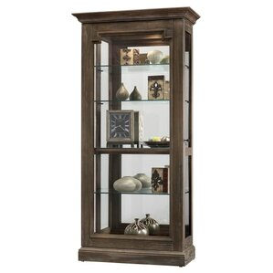 Caden II Lighted Curio Cabinet by Howard ..
