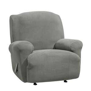 Stretch Morgan T-Cushion Recliner Slipcover ..
