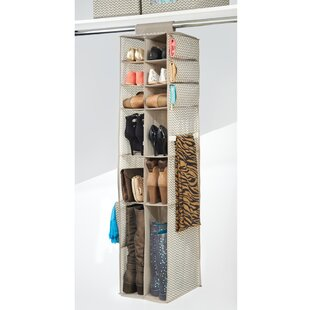 Price Check 16 Compartment 12 Pair Hanging Shoe Organizer By Rebrilliant