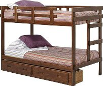 Twin Over Twin Bed With Storage by Chelsea Home Comparison