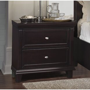 Find for Heidy 2 Drawer Nightstand By Red Barrel Studio