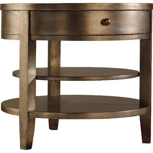 Hooker Furniture Sanctuary End Table with Storage