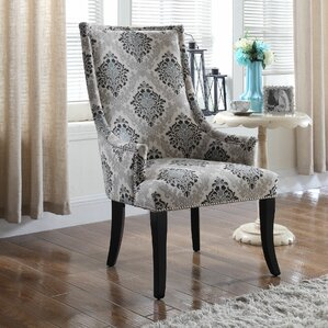 Floral Armchair by BestMasterFurniture