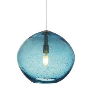 Crowe 1-Light Globe Pendant by Orren Ellis