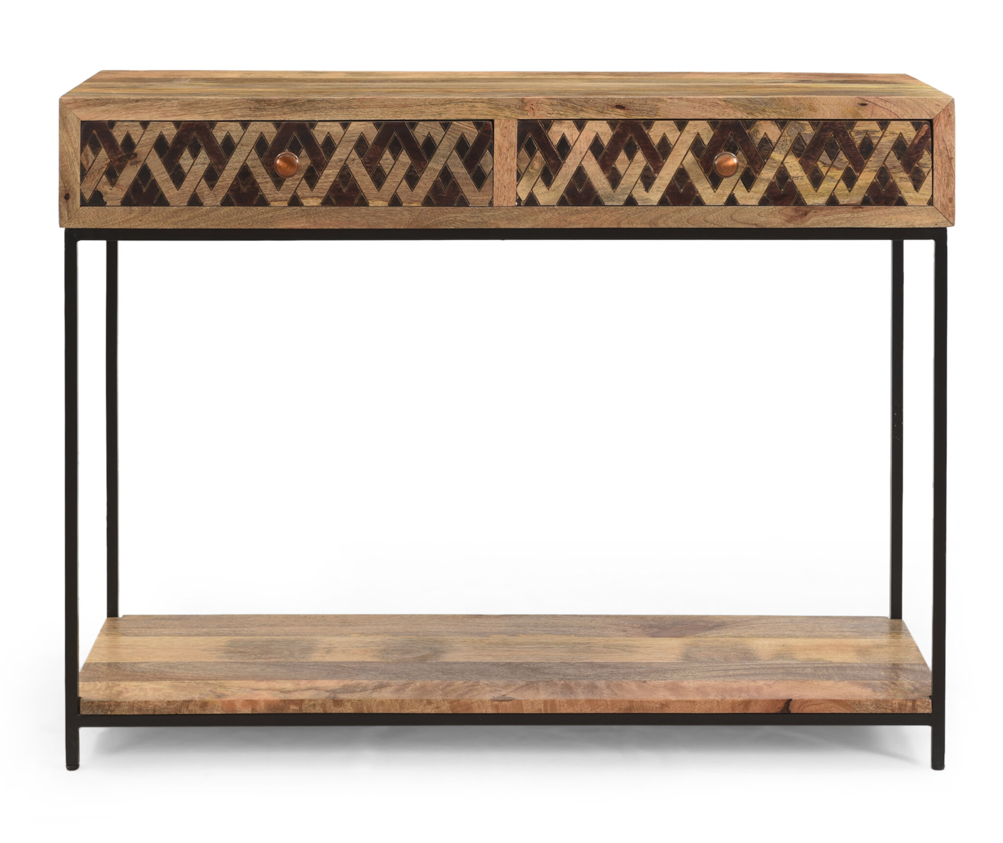 Union Rustic Pendergrass Stella 42 Solid Wood Console Table Reviews Wayfair