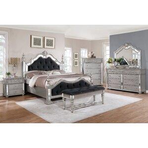 6 piece bedroom set. Kieran Panel Configurable 6 Piece Bedroom Set Queen  Wayfair