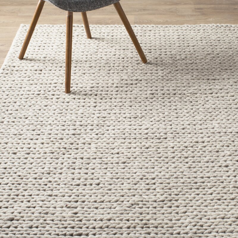 off white area rug. Arviso Hand-Woven Wool Off White Area Rug A