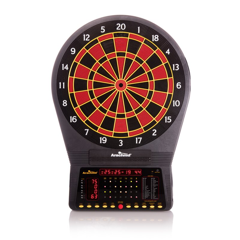 Arachnid Cricket Pro Electronic Dart Board 750 with Darts & Reviews  Wayfair