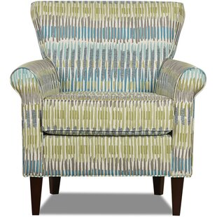 Korin Wing back Chair by Klaussner Furniture