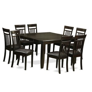 Parfait 9 Piece Dining Set by East West Furniture