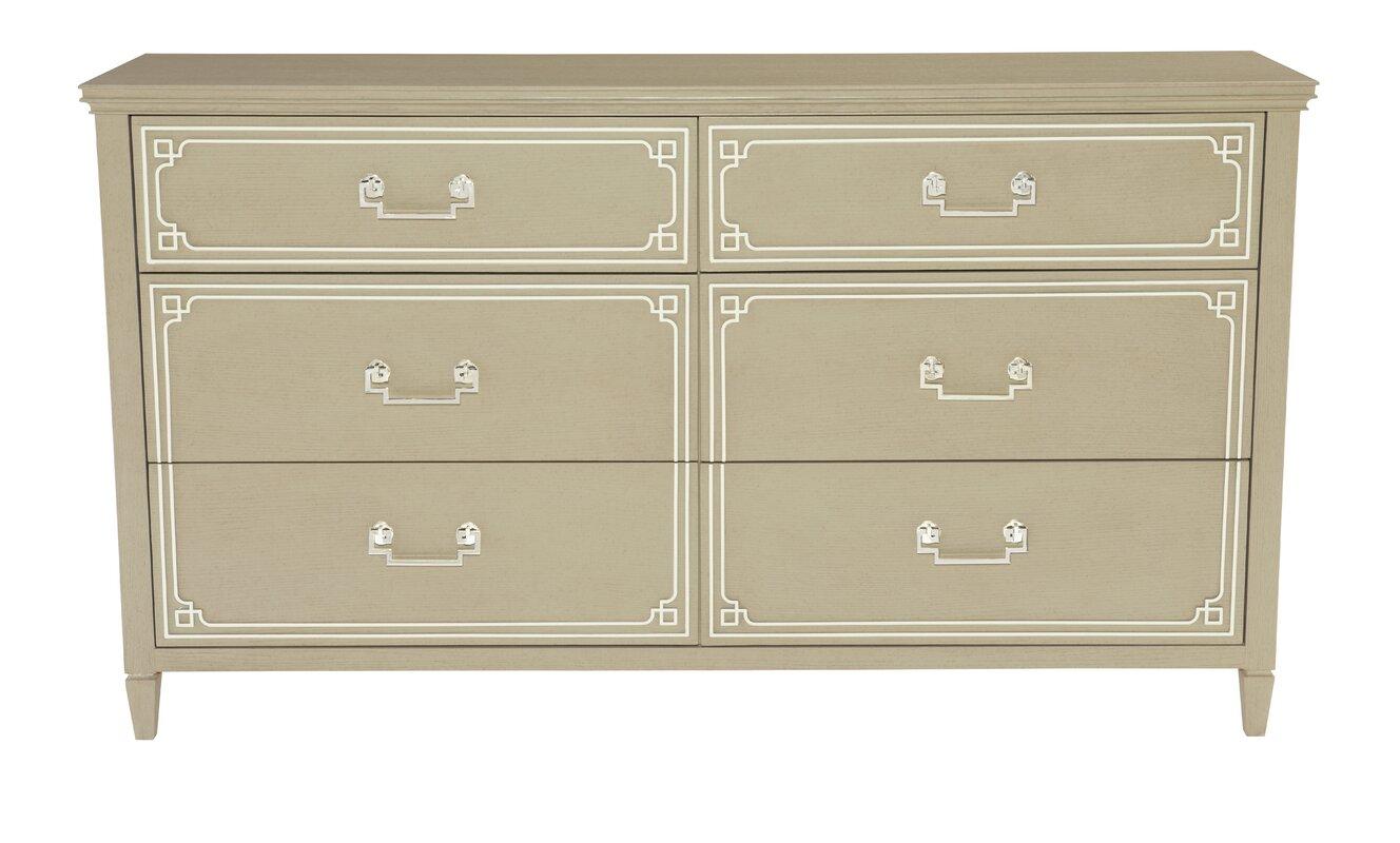 Bernhardt Savoy Place 6 Drawer Double Dresser