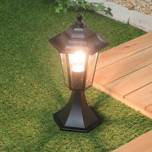 Church Strett 1-Light Pedestal Light By Sol 72 Outdoor