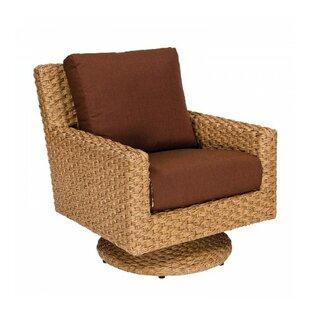 Woodard Mona Swivel Patio Chair with Cush..