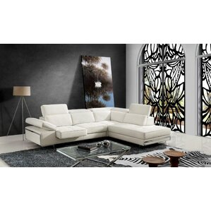 Bradham Reclining Sectional by Orren Ellis